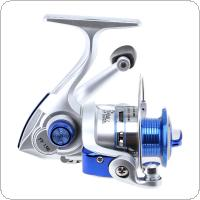 10 Ball Bearing 5.2:1 Mini Palm Size Spinning Fishing Reels High Speed Sea Fishing Blue Colors Wheel