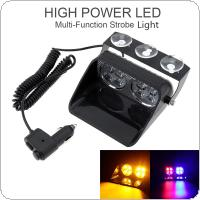 S8 24W Windshield Led Strobe Light Viper Car Flash Signal Emergency Fireman Police Beacon Warning Light