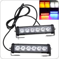 36W 12V Strobe Car Warning Light LED Daytime Running Police Emergency Light for Truck  / Motorcycle / Car