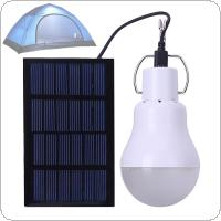 15w 12LED Portable Charging Solar Powered Led Bulb Lamp with PVC Lampshade Heat Dissipation for Camping / Cooking / Reading