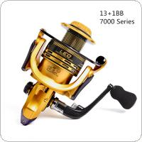 7000 Series 13+1BB High Speed Gear Ratio 5.5:1 Trolling Long Shot Casting Big Sea Spinning Fishing Reel