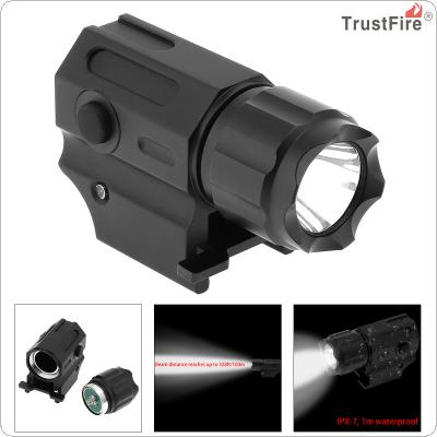 TrustFire Waterproof G03 XP-G R5 LED 210LM Handheld Military Weapon Lights Pistol Torch Light Tactical Flashlight with 2 Modes Light