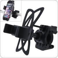 Bicycle Handlebar Phone Mount Holder With Silicone Support Band For iPhone Samsung GPS Universal