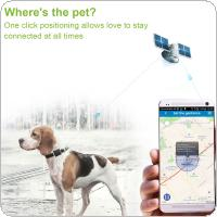 RF-V26 Waterproof Solar GPS GSM GPRS Tracker  with Class 12 TCP/IP SOS Communicator for Pet Kids Elderly Personal Lifetime Web APP Tracking Two-way Talk