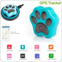 RF-V32 Pets Mini Waterproof GPS Tracker Anti Dog Cat Theft Support GSM GPRS Phone Real Time Tracking Alarm Monitor Device GPS Location with Wireless Charger