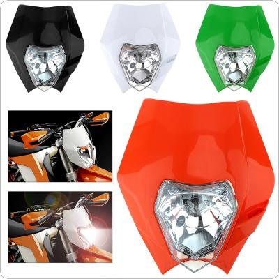 12V 35W General Off-road Motorcycle Headlight Assembly with 4 Cables Plug and Lamp Housing for Honda Motorcycle CRF150 / CRF230 / CRF50 / CRF250 / CRF450