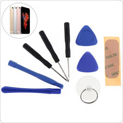 1 Set 9 In 1 Tools Mobile Cell Phone Opening Pry Repair Tool Kit Screwdrivers Disassembly for iPhone 5 5S 6 6S 7 7S