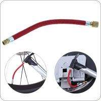 17cm Portable MTB / Road Bicycle Pump Inflator Extension Tube for Schraeder Valve