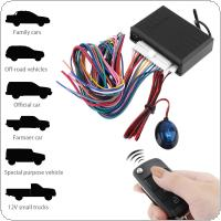 12V Car Alarm System Vehicle Keyless Entry System with Remote Control & Door Lock Automatically for Toyota