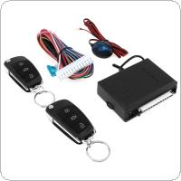 12V Car Alarm System Vehicle Keyless Entry System with Remote Control & Door Lock Automatically for Hyundai
