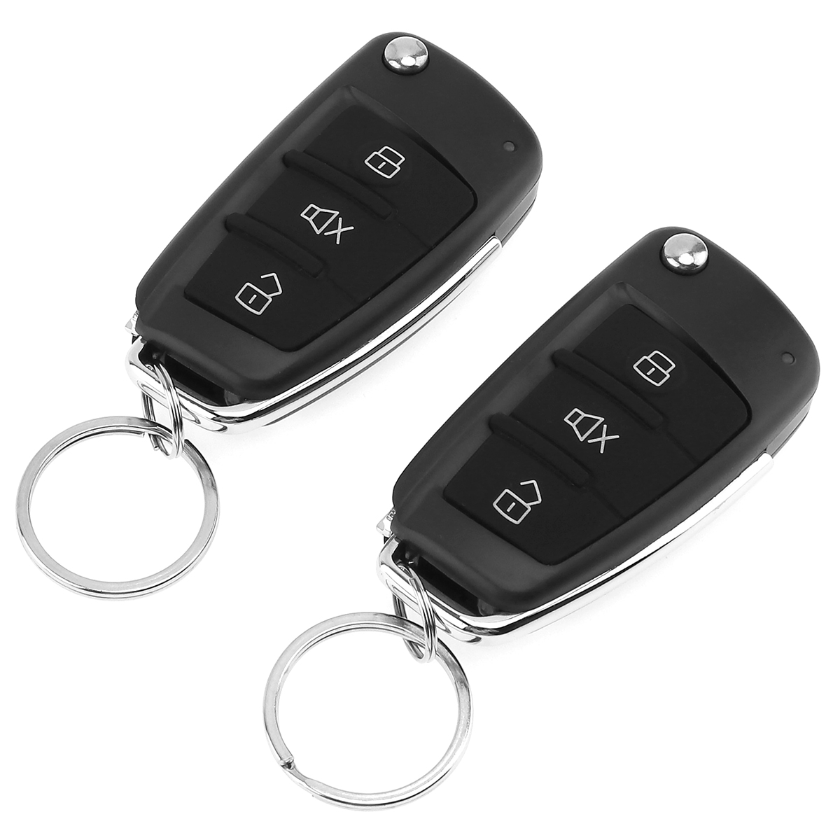 12V Car Alarm System Vehicle Keyless Entry System with Remote Control & Door Lock Automatically for KIA