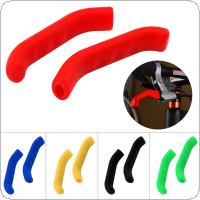 Universal Bike Brake Handle Silicone Sleeve Protection Cover for Mountain / Road Bicycle