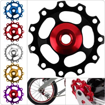Aluminum Alloy 11 Gear Bicycle Road MTB Rear Derailleur Pulley Guide Roller Wheel for Shimano Derailleur
