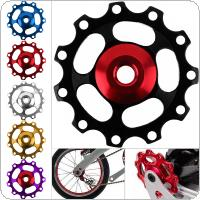 Aluminum Alloy 11 Gear Bicycle Road MTB Rear Derailleur Pulley Guide Roller Wheel Fit for Shimano / Derailleur
