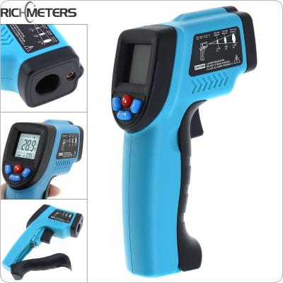 GM550 Hand held Portable Adjustable Non-Contact  IR Laser Gun Thermometer with Backlight for -50~550 Degrees Celsius / -58 ~1022 Fahrenheit