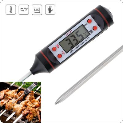 TP101 Portable Pen Style Probe Digital Thermometer Support Automatic Shut-down for - 50 ~ 300 Degrees Celsius / -58 ~ 572 Fahrenheit