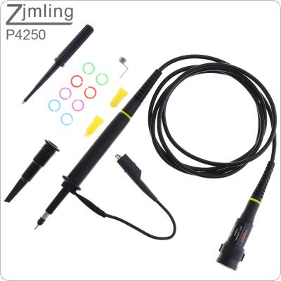 P4250 High Voltage Oscilloscope Probe 2KV / 100 : 1 / 250MHz Alligator Clip Test Probe for Electronic Measuring Instruments