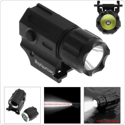 Securitylng Waterproof G03 XP-G R5 LED 210LM Handheld Military Weapon Lights Pistol Torch Light Tactical Flashlight with 2 Modes Light