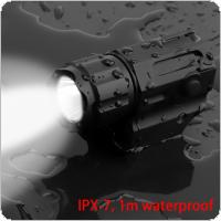 Securitylng Waterproof G03 XP-G R5 LED 210LM Tactical Flashlight Military Weapon Lights with 2 Modes Light + CR2 3V 800mAh Lithium Battery