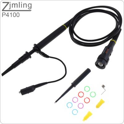 P4100 High Voltage Oscilloscope Probe 2KV / 100 : 1 /100MHz Alligator Clip Test Probe for Electronic Measuring Instruments