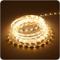 12V 1m White Light LED Strip Light with 300 Lamp Beads and Double-sided Adhesive for Decorating