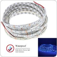 12V 1m Waterproof UV Ultraviolet LED Strip Light with 300 Lamp Beads and Double-sided Adhesive for Decorating / Sterilization