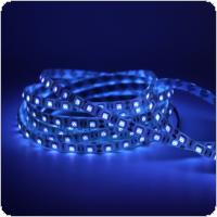 12V 1m Waterproof UV Ultraviolet LED Strip Light with 60 Lamp Beads and Double-sided Adhesive for Decorating / Sterilization