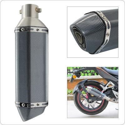 Motorcycle Modified Scooter Muffle Exhaust Pipe with 51mm Interface for GY6 CBR CBR125 CBR250 CB400 CB600 YZF FZ400 Z750