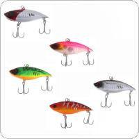 5pcs 6.5cm 11g Artificial Bionic Plastic Fishing Hard Lure VIB Hard Bait for Saltwater Fishing
