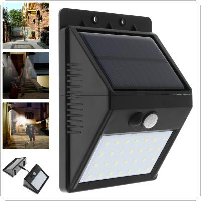 Waterproof Outdoor 28 LEDS Solar Motion Sensor Separable Light with 3 Modes Support Security Night Lamp for Garden / Wall