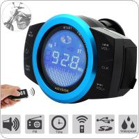 AOVEISE Waterproof Anti-theft MP3 Speaker Radio Host Support USB / TF Card for Scooter