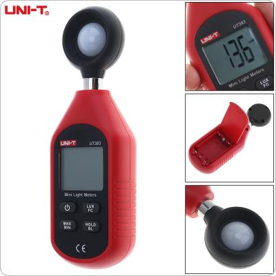 UT383 199,999  Lux / FC Portable Handheld Mini Digital Illuminometer with LCD Display and Backlight