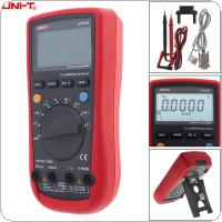 UT61E LCD Display 22000 Counts Handheld Digital Multimeter with Backlight and Adapter Socket Support Data Retention and Peak Measurements