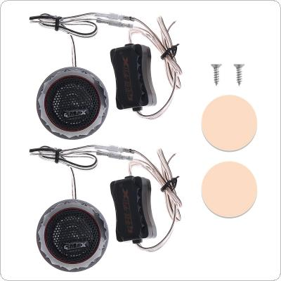 2pcs 180W GX-109 Car Horn Dome Tweeter Audio Loudspeaker Car Stereo Treble Speaker for Cars