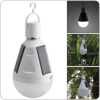 Portable 12W LED Waterproof Solar Emergency Bulb Outdoor Light with Hang Hook for Camping / Hiking / Fishing