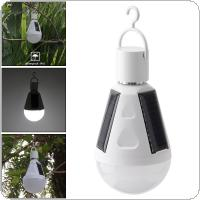 Portable 7W LED Waterproof Solar Emergency Bulb Outdoor Light with Hang Hook for Camping / Hiking / Fishing