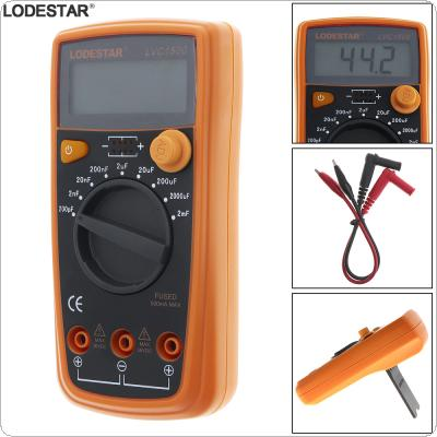 LVC1500  Portable 1999 Counts Hand-held Digital Precision Capacitance Table with LCD Display and Holder