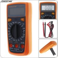 LD3801A LCD Display 1999 Counts Small Handheld Digital Multimeter with Backlight and Holder