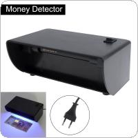 220V Purple Light Detector with Plastic ON/OFF Switch Inspection Instrument for Checking Money
