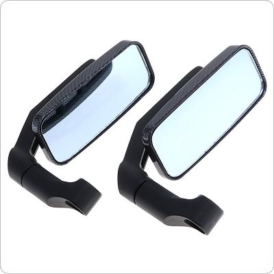 2pcs Modified Serpentine Universal Motorcycle Rearview Mirror Side Mirrors Handlebar for Motorcycle