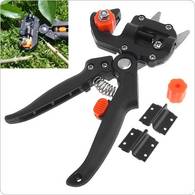 Professional Handle Pruning Shears Grafting Cutting Tool with Replace Parts for Garden Fruit Tree