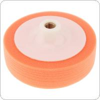 6 Inch High Density Soft Car Waxing Polished Orange Sponge Wheel for Cleaning / Polished / Waxing