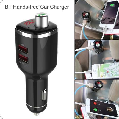 Car LCD Bluetooth MP3 Music Player Kit Auto Radio Player Hands-free FM Transmitter Extend Dual USB