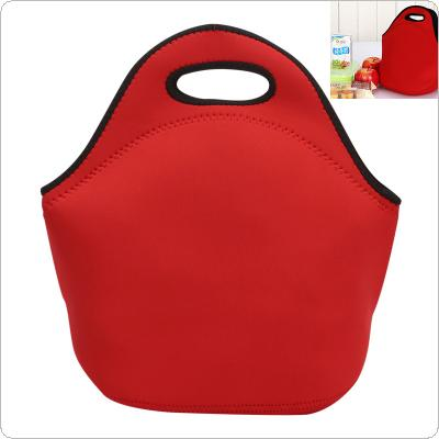 Waterproof Portable Lunch Bag with High Capacity and Zipper for Children / Students / Picnic