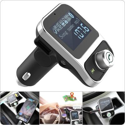 HY88 Bluetooth Car MP3 Music Player Kit LCD Auto Radio Audio Stereo Player Hands-free FM Transmitter with Dual USB