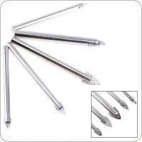 5pcs Glass Marble Porcelain Spear Head Ceramic Tile Drill Bits Set for Electric Drill