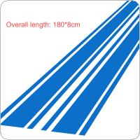 183 x 8CM PVC Material Stripe Pattern Creative Funny Car Sticker Accessories for Cars Hood