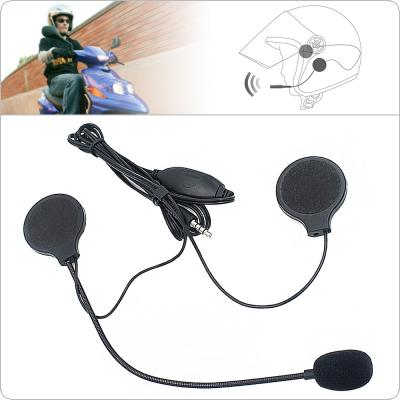 Universal Headset Helmet Earphone 3.5MM Plug Motorcycle Headphone Handsfree with MIC For MP3 MP4 Smartphone