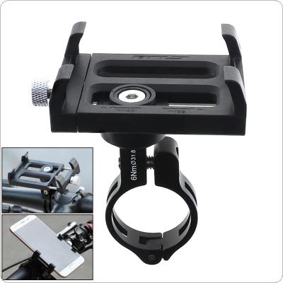 GUB PLUS 3 Black Plastic Frame And Aluminum Alloy Clip Bicycle Phone Holder for Bike Handlebar and Stem