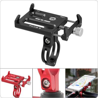 GUB PLUS 8 Aluminum Alloy Clip Bicycle Phone Holder for Bike Handlebar and Stem